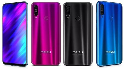 Анонсы: Объявлены российские цены Meizu 16Xs, Note 9 и M10