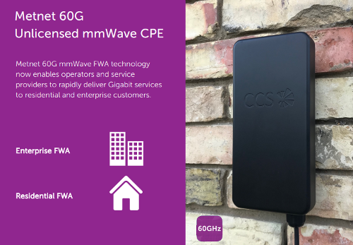 CCS Metnet 60G mmWave