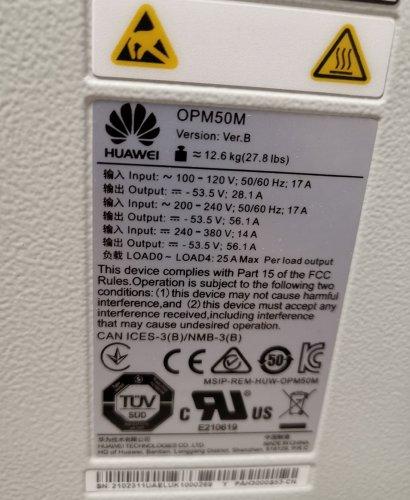 Блок питания Huawei OPM50M