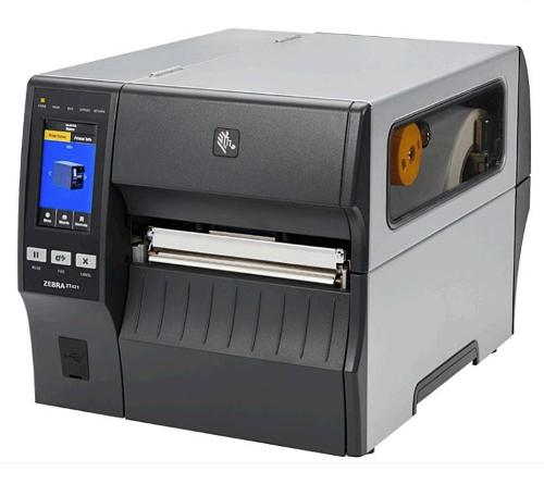Zebra ZT421 это промышленный принтер этикеток с поддержкой печати и кодировки меток RFID