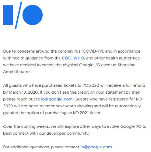 Это интересно: Google I/O 2020 отменено из-за COVID-19