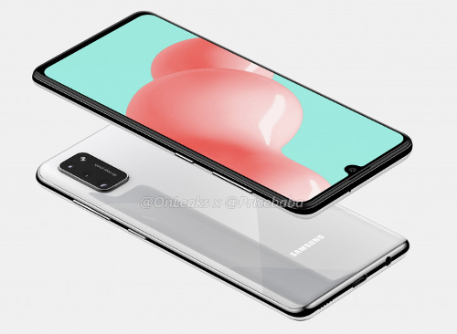 Слухи: Samsung работает над Galaxy A41