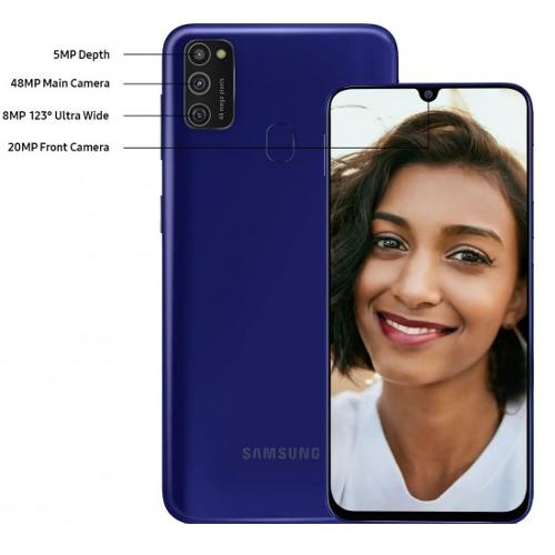 Анонсы: Samsung Galaxy M21 оснастили 48 Мп камерой и АКБ 6000 мАч