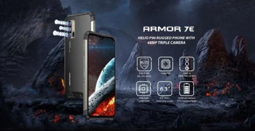 Анонсы: Ulefone Armor 7E – крепыш с 48 Мп камерой