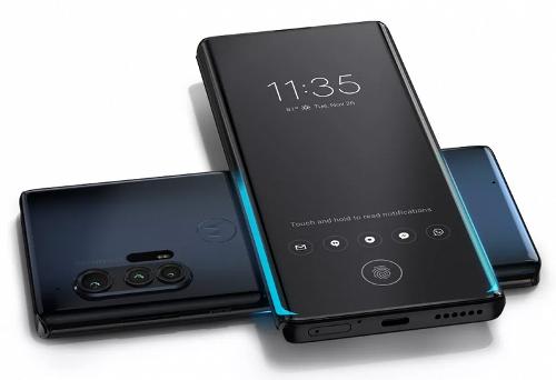 Анонсы: Motorola Edge+ - бесконечная грань дисплея и 108 Мп камера