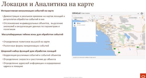 Локация и Аналитика на карте