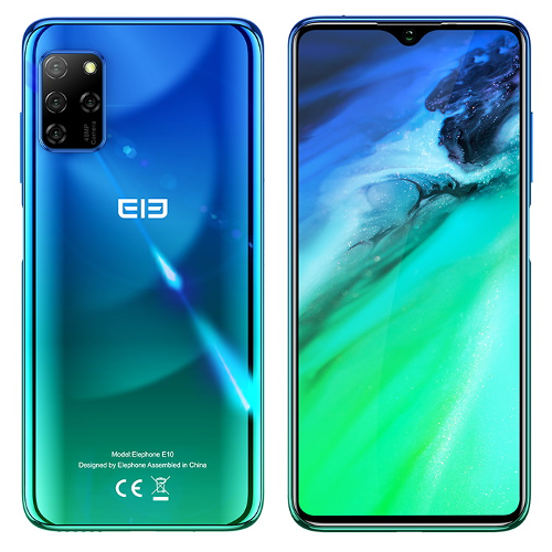 Анонсы: Elephone E10 – смартфон с NFC и QUAD-камерой