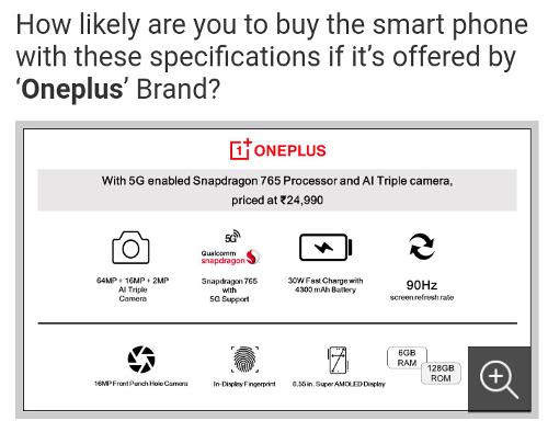 Слухи: Раскрыты спецификации OnePlus Z?