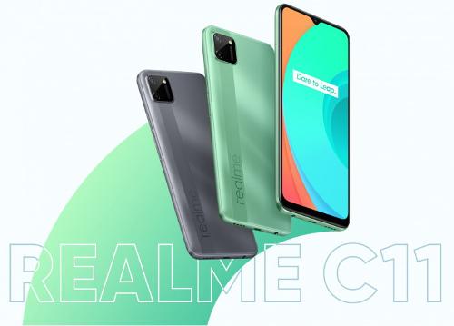 Анонсы: Realme C11 представлен официально