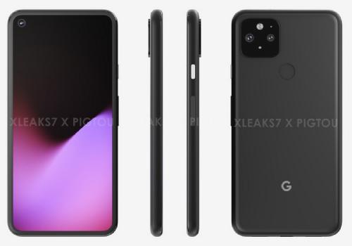 Слухи: Google Pixel 5 замечен на рендерах