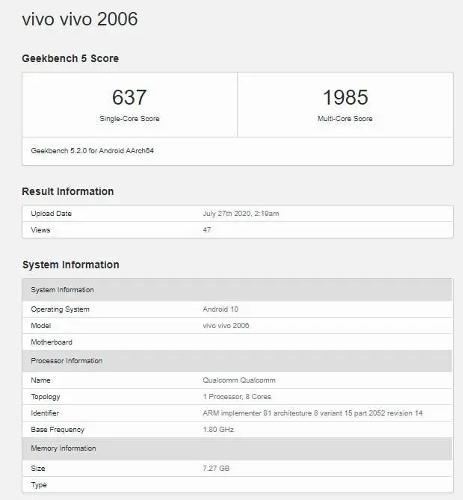 Слухи: Vivo X60s 5G получит Snapdragon 765G и быструю зарядку 33 Вт