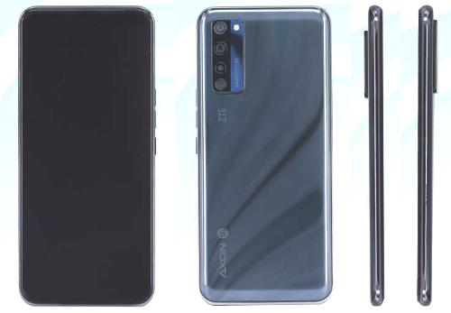 Слухи: ZTE Axon 20 5G получит подэкранную фронтальную камеру