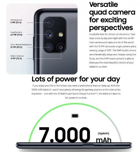 Слухи: Samsung Galaxy M51 замечен на официальном сайте
