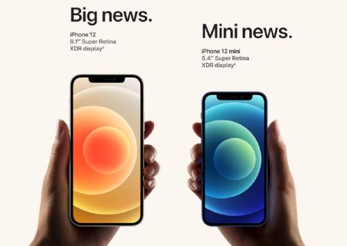 Анонсы: iPhone 12 и компактная версия iPhone 12 mini представлены официально
