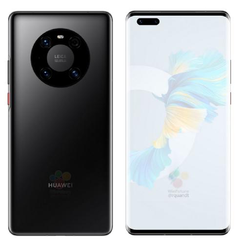 Слухи: Раскрыты спецификации и рендеры Huawei Mate 40 Pro