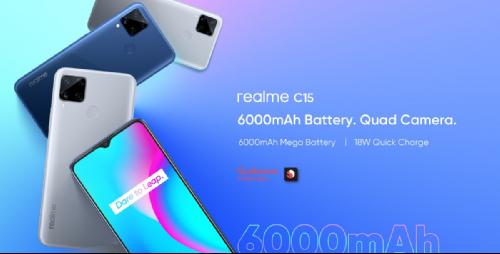 Анонсы: Официально представлен Realme C15 Qualcomm Edition