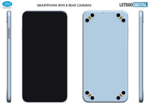 Это интересно: Появятся смартфоны с 8 камерами 4 вспышками