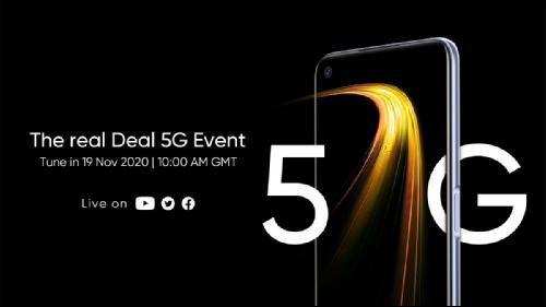 Слухи: Realme 7 5G представят 19 ноября