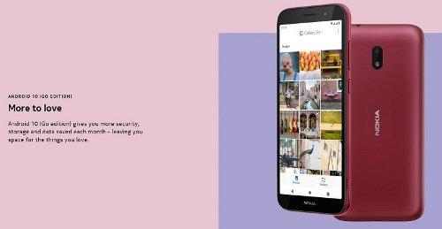 Анонсы: Nokia C1 Plus с Android 10 (Go edition) оценили в €69