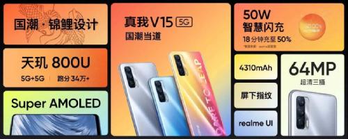 Анонсы: Realme V15 5G представлен официально
