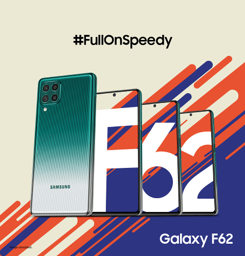 Анонсы: Samsung  Galaxy F62 с АКБ 7000 мАч представлен официально