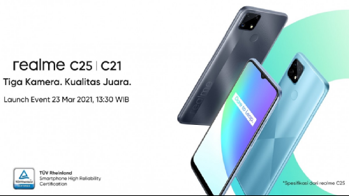 Слухи: Realme C25 с Helio G70 и 48 Мп камерой представят 23 марта