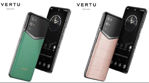 Анонсы: Vertu iVertu 5G представлен официально