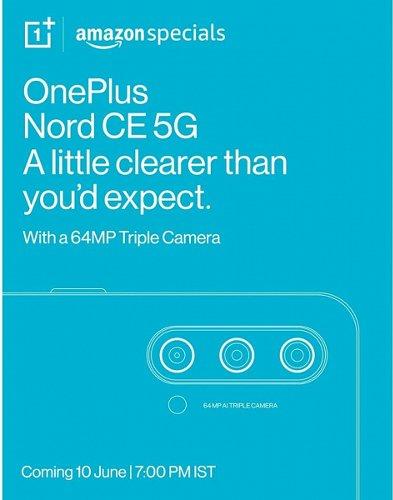 Слухи: OnePlus Nord CE 5G показался на рендерах