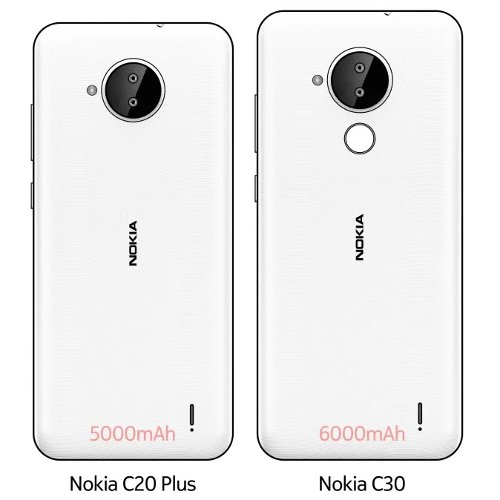 Слухи: Nokia C30 с крупным экраном и емкой АКБ замечен на живых фото