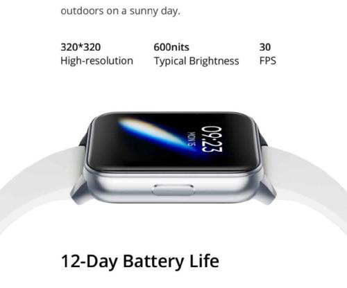 Анонсы: DIZO Watch с 1,4-дюймовым дисплеем и 12 днями автономной работы появились в Индии