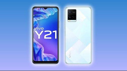 Анонсы: Бюджетный смартфон Vivo Y21 появился на индийском рынке