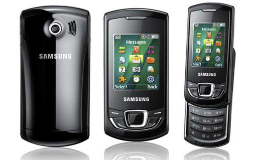 5e1dbf82d020 MWC 2010  Samsung Monte Slider E2550 и Monte Bar C3200 для развивающихся  рынков