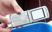 Краш-тест сотового телефона Motorola V3 RAZR