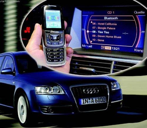 Технология беспроводного соединения мобильного телефона и автомобильной  стереосистемы