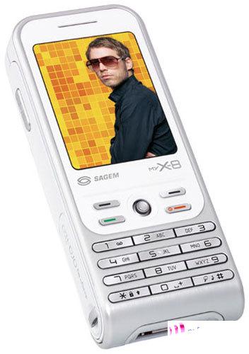 Новинки мобильных телефонов от wwwomportalcom sagem my x-8