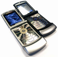 Обзор сотового телефона Motorola RAZR V3i и Motorola RAZR V3 Pink