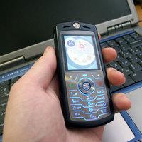 Краш-тест сотового телефона Motorola SLVR L7