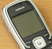 Nokia 5500 after cleaning from milk