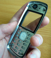 Nokia 5500 metallic frame