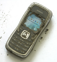 Nokia 5500 after vacuum cleaner