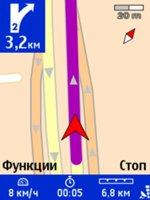 Тест GPS-модуля смартфона Nokia 6110 Navigator