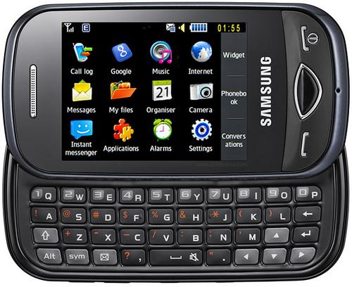 Игры Да Выход ... и легкий мобильный телефон Samsung (Самсунг) GT-S5560.